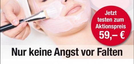 Bio Face Lifting zum Kennenlernen – Aktionspreis 59,- €